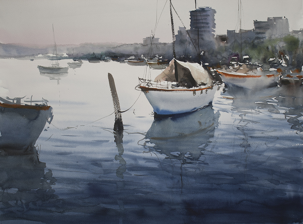 Chan_Dissanayake_Forster_NSW_53cm_x_73cm_Watercolour